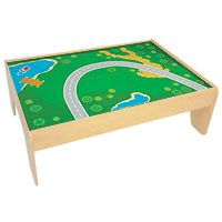I\u0027m going to paint the train table top that we made to look something like this.  sc 1 st  Pinterest & The best train table for kids with plenty of storage | Train table ...