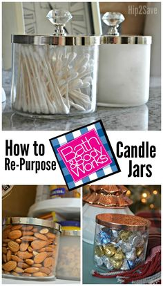 You'll want to start saving those empty Bath and Body Works candle jars after seeing these three easy DIY ideas!