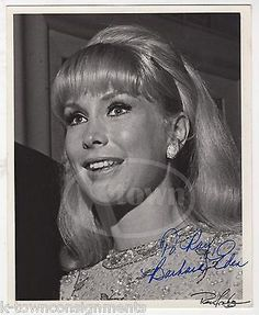 BARBARA EDEN I DREAM OF JEANNIE TV ACTRESS VINTAGE AUTOGRAPH SIGNED PROMO PHOTO