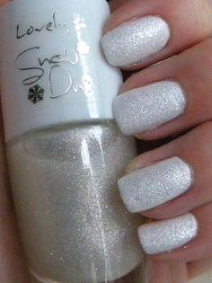 Lovely Snow Dust nr 2 #nails #nailpolish