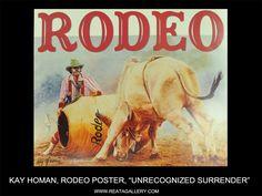 "Western Art by Kay Homan, ""Unrecognized Surrender"""