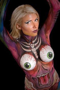 Amazing Women body art