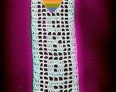 Crochet Skull Scarf Pattern PDF Pattern Instant by WickedCrochet71
