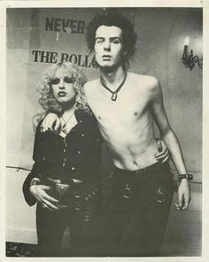 Soon after they met, Sid and Nancy became inseparable. In an odd codependent way, each provided what the other craved. Besides being enthralled with the sex, Sid found a mother in bossy Nancy, and Nancy found someone who wanted to be bossed. They were made for each other. But eventually their relationship took precedence over everything else in their lives, including the Sex Pistols. What a story!!