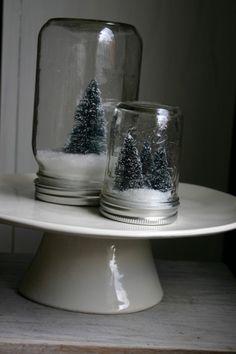 DIY Snow Globes