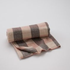 Vintage Wool Checked Throw Blanket   Schoolhouse Electric & Supply Co.
