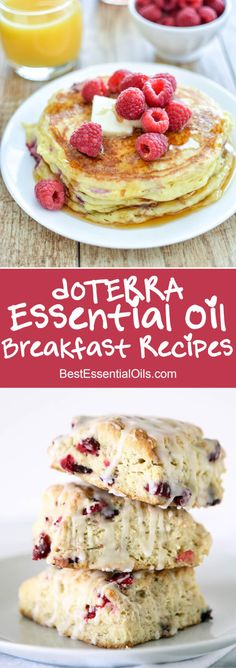 I not only love the flavor doTERRA essential oils give to these recipes, but they are easy to use and super healthy!