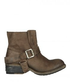 As seen in Vampire Diaries Season 5 Episode 8, worn by Elena Gilbert. I want these boot. AllSaints Jules Biker Boots !!!!