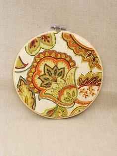 Hoop Art Embroidery  Hand Embroidery  Flower  by wilshepherd