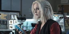 iZombie is a really great show. Horrible name, but it's a great show about a doctor who goes to a party for the first time and accidentally gets turned into a zombie. To retain a moderately normal life, she must eat brains, but the brains give her visions from the person's point of view. She goes to a morgue and eats brains there and helps solve murders.—addyd4588683f6