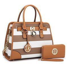 aaf4fddaec2c MMK collection Fashion Packlock Handbag for Women Satchel Purse