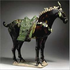 Tang Dynasty Horse - have always loved and wanted a horse. This may be as close as I get! I'm treating myself to one for my 65th birthday!