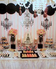 Kelli M's Bridal/Wedding Shower / Vintage Parisian - Photo Gallery at Catch My Party
