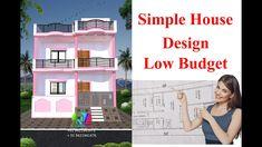 Single Floor House Design, Modern Small House Design, Simple House Design, Village House Design, Village Houses, Front Elevation Designs, Modern India, House Plans, Exterior