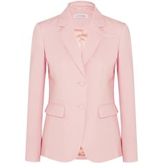Altuzarra Fenice wool-blend piqué blazer ❤ liked on Polyvore featuring outerwear, jackets and blazers