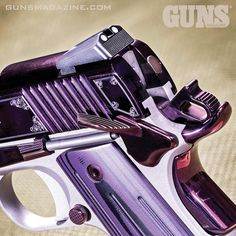 """200 Likes, 4 Comments - FMG Publications (@fmgpubs) on Instagram: """"Time to drop the hammer on a new week. Check out Kimber's Amethyst Ultra II .45 ACP featured in the…"""""""