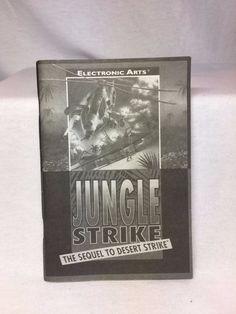 cool Sega Genesis Jungle Strike Instruction Booklet Manual Book Only No Game   Check more at http://harmonisproduction.com/sega-genesis-jungle-strike-instruction-booklet-manual-book-only-no-game/