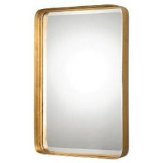 Crofton Antique Gold Mirror : Target