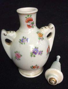 Vintage Japanese Porcelain Perfume Bottle