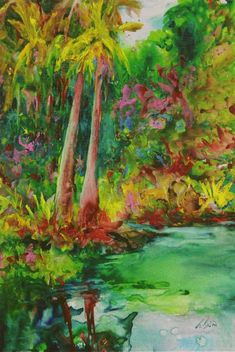Rock paper , water colours Taylor Ikin, Artist - Articles