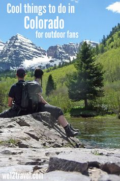 Really cool things to do in Colorado for outdoor lovers -> check our blog for the best tips on how to spend your time in the Great Outdoors!