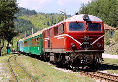 Henschel Diesel Locomotive in Bulgaria