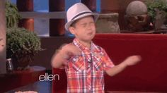 UGH. I CAN'T EVEN TAKE YOU. | Ellen Has Found The Most Adorable 4-Year-Old Kid! I laughed-cried - I love it!