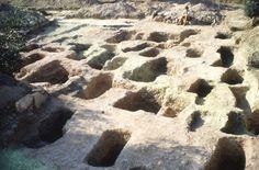 Burial site, Lefkandi, Euboea