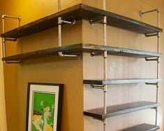reclaimed wood bookcase on Etsy, a global handmade and vintage ...