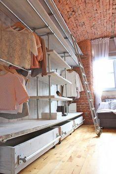 Мебель и предметы интерьера в цветах: серый, светло-серый, белый, коричневый, бежевый. Мебель и предметы интерьера в .