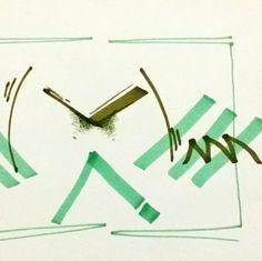 숙경이의 동요안무(텔레비전에 내가 나왔으면) _마카,색연필 [추상적/패턴적+즉흥적요소/선적구성+면적구성/회화적/설명적]