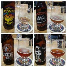 Pumpink ale's y de dia de muertos de la cata en The beer company Taxqueña. Salud!!