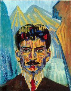 Martiros Saryan (Armerian: 1880 - 1972) - Self-portrait (1909)