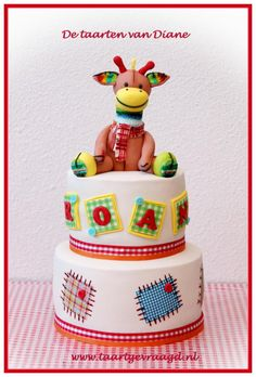 Happy Horse giraffe Gogo cuddly toy - Cake by Diane Gunst