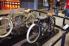 Evolución de Harley Davidson