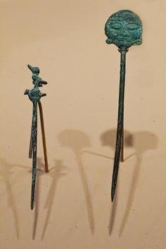 Piercers Inca and Moche Peru Copper CE American Art, Peru, Art Museum, Portland, Oregon, Ethnic, Copper, Museum Of Art, Brass