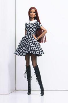 Modelled by Dominique in NuFace body