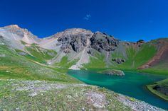 Island Lake near Silverton, is a favorite hidden Colorado gem for local hikers, and a spectacular San Juan National Forest hiking trail.