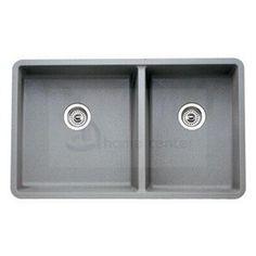 Blanco - Kitchen Sink - 2 Bowl - Blancoprecis Series 441130