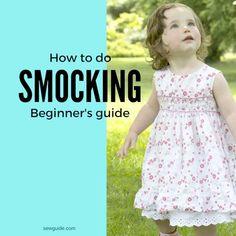 how to do smocking