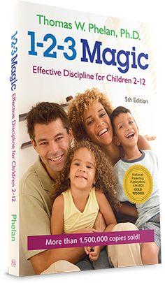 Parenting Advice: 1-2-3 Magic Parenting Book - 5th Edition - by Dr Thomas Phelan