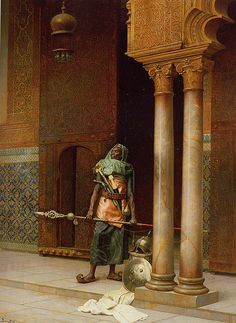 Palace Guard, by Ludwig Deutsch  1902