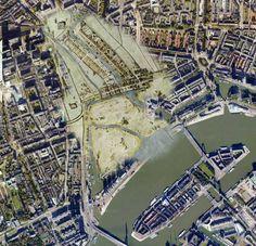 07-06-2013 is het 673 jaar geleden dat Rotterdam stadsrechten kreeg. Hier zie je het Rotterdam van 1340 in onze huidige metropool.