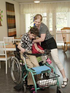 Asukkaille tarpeen mukaista ja osaavaa apua oman kodin arjessa.
