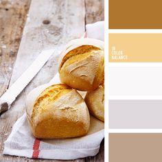 amarillo y beige, color de la bollería, color pan blanco, colores para la decoración, combinaciones de colores, marrón grisáceo, paletas de colores para decoración, paletas para un diseñador, tonos amarillos, tonos beige, tonos marrones.