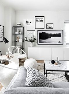 Gallery Wall Update: A TV That Matches Our Decor
