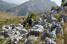Exploration hike Omis - reverse trail
