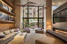 Diseño de Interiores & Arquitectura: Hermosa Casa Restaurada con Aire de Cálida Elegancia y un Jardín Zen