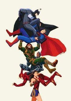 Wonder Woman's Justice League