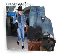"""Catch A Flight Like: Amber Heard"" by hollowpoint-smile ❤ liked on Polyvore featuring rag & bone, Jil Sander, Royce Leather, Alexander McQueen, Frye and Givenchy"